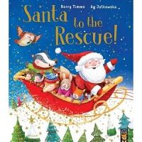 【中商原版】拯救圣诞老人 英文原版 Santa to the Rescue! 圣诞主题绘本 子共读绘