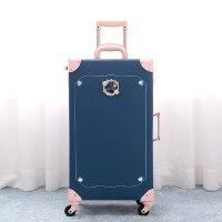 复古行李箱女可爱韩版拉杆箱小清新万向轮个性旅行箱皮箱