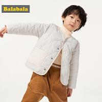 巴拉巴拉童装宝宝棉衣男童新款秋装儿童棉服小童棉袄薄棉洋气