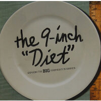 9-INCH DIET, THE(ISBN=9781576873205) 英文原版
