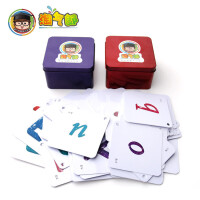 小学生儿童塑料英语字母卡片 幼儿园宝宝0-3-6岁英文早教 学习教具