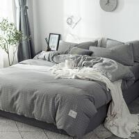 君别简约床上四件套220x240180x220被套2.2x2.4米1.8m北欧风 1.5m床(被套180*220 床单