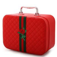 化妆箱大小号可爱便携旅行防水手提收纳简约化妆包大容量