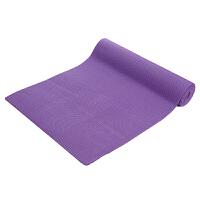皮尔瑜伽 PVC8mm纯色防滑瑜伽垫紫色 (附带背包)