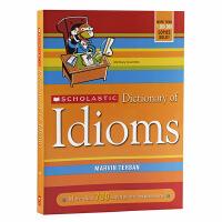 【中商原版】学乐英语习惯用语词典 英文原版 Scholastic Dictionary Of Idioms 修订版 大