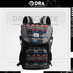 【支持礼品卡支付】DRACONITE英伦男女民族风书包帆布包双肩包