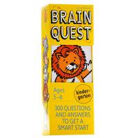 【中商原版】大脑任务(幼儿园)第4版 英文原版 Brain Quest Kindergarten