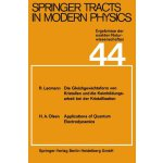 Springer Tracts in Modern Physics (English and German Editi