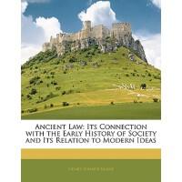 【预订】Ancient Law: Its Connection with the Early History of So