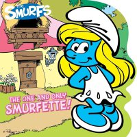 英文原版 唯一的蓝妹妹 Smurfs Classic: The One and Only Smurfette!