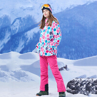 滑雪服韩国风双单板滑雪衣服套装女套装保暖