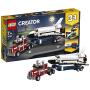 【当当自营】乐高LEGO Creator系列 31091 航天飞机运输车