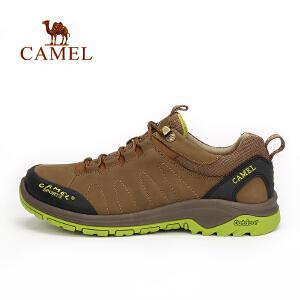 camel骆驼户外男款舒适徒步鞋 男士透气减震徒步鞋