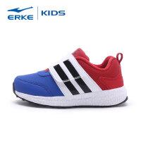 【3件3折到手价:71.7元】鸿星尔克(ERKE) 童鞋 新品小童儿童运动鞋魔术贴扣多彩轻适休闲跑鞋