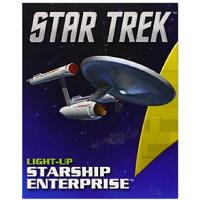 【现货】英文原版 星际迷航 进取号飞船迷你模型 可亮灯 Star Trek Light-Up Starship Ent