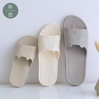 朴西亲子儿童浴室防滑洗澡卡通室内居家休闲夏季凉拖鞋女家用可爱