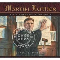预售 英文预定 Martin Luther: A Man Who Changed the World