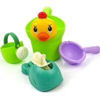 宝宝洗澡玩具儿童戏水玩具套装女孩男孩洗头杯转转乐水车水勺花洒