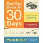 【预订】You Can Draw in 30 Days The Fun, Easy Way to Learn to D
