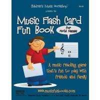 【预订】Music Flash Card Fun Book: for Note Names