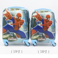 儿童拉杆箱女万向轮旅行箱男孩行李箱卡通箱公主18寸19寸可坐可骑