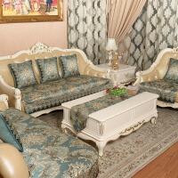 欧式高档皮沙发垫坐垫