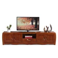 中式实木电视柜现代简约茶几电视柜组合客厅地柜家具套装储物柜 组装