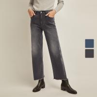 【再叠9折礼券】网易严选 女式石墨烯九分牛仔裤