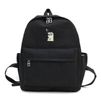 书包女韩版原宿个性高中学生可爱旅行背包休闲双肩包