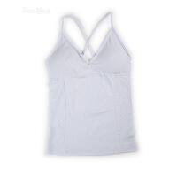 夏季无钢圈文胸一体带胸垫Bra吊带背心女家居服瑜伽打底运动内衣