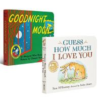 【中商原版】吴敏兰廖彩杏书单绘本2册 英文原版 Goodnight Moon 启蒙认知 经典绘本