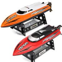 遥控船玩具船快艇轮船无线充电动船超大模型高速水冷防水赛艇