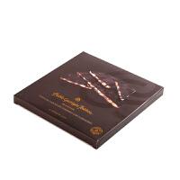 Pablo/巴布洛 进口巧克力 扁桃仁纯黑手工巧克力200g