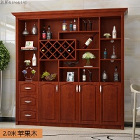 欧式酒柜鞋柜一体白色客厅靠墙餐厅隔断定制现代简约餐边柜 双门