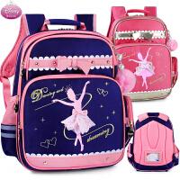 小学生书包迪士尼女童双肩背包白雪公主儿童1-3年级书包减负4