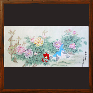 于玉江《和平富贵》国家一级美术师,泰山书画院常务院长【DOOML944】