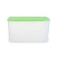 特百惠长方形水果冰箱塑料密封盒2.8L果菜冷藏保鲜盒