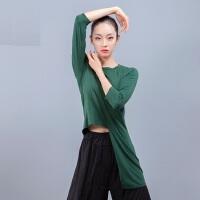 成人女体操服民族舞上衣 新款现代舞蹈服练功服女 宽松古典舞瑜珈服拉丁舞服装