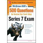 【预订】McGraw-Hill's 500 Series 7 Exam Questions