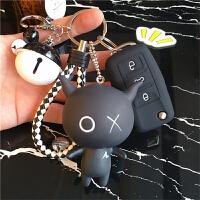 ?钥匙套速腾polo宝来高尔夫7朗逸大众钥匙包女用可爱钥匙扣壳?
