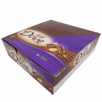 【包邮】德芙(Dove) 榛仁巧克力 盒装 516g (12条*43g) 办公室休闲零食