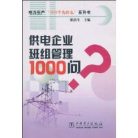 供电企业班组管理1000问/电力生产1000个为什么系列书