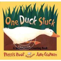预售 英文预定 One Duck Stuck: A Mucky Ducky Counting Books: A Muck