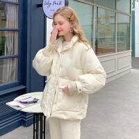 MG小象女韩版宽松学生休闲冬季外套时尚可爱短款棉衣小棉袄潮