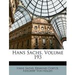 【预订】Hans Sachs, Volume 193 9781146075084