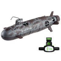 遥控潜水艇模型核潜艇遥控船充电玩具六通道无线经典德国U潜艇