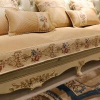 欧式沙发垫夏季防滑夏天款冰丝凉席垫123组合客厅贵妃 70*