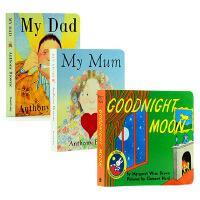 【中商原版】Goodnight Moon晚安月亮 My Mum My Dad我爸爸我妈妈 英文原版