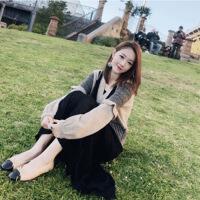 秋冬季时尚名媛小香风针织毛衣两件套女装早秋网红长裙套装潮 图片色 均码(80斤-0斤)