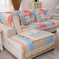 棉制布艺沙发垫套装坐垫沙发套罩巾